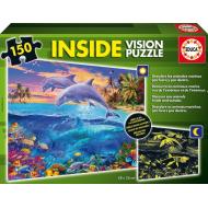 упаковка игры Пазл Морской мир с люминисцентным свечением в темноте