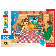 упаковка игры Пазл Простоквашино 160 элементов Step Puzzle