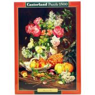 упаковка игры Пазл Розы в вазе Castorland