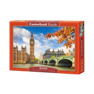 упаковка игры Пазл Сердце Лондона 1000 элементов Castorland