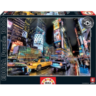 упаковка игры Пазл Таймс Сквер, Нью-Йорк HDR Educa