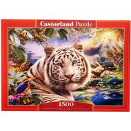 упаковка игры Пазл Тигр 1500 элементов Castorland