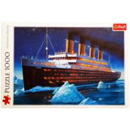 упаковка игры Пазл Титаник 1000 элементов Trefl