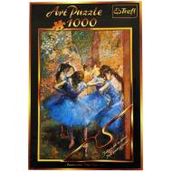упаковка игры Пазл Голубые танцовщицы 1000 элементов Trefl