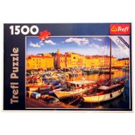 упаковка игры Пазл Старый порт Сен-Тропе 1500 элементов Trefl