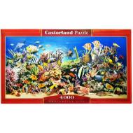 упаковка игры Пазл Подводный мир 4000 элементов Castorland