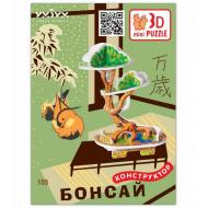 упаковка игры Дерево Бонсай 3D-mini puzzle