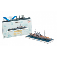упаковка игры Крейсер 1 ранга Аврора Санкт-Петербург в миниатюре