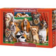 упаковка игры Пазл Клуб собак 3000 элементов