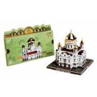 упаковка игры Храм Христа Спасителя. Москва в миниатюре