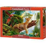 упаковка игры Отдыхающий леопард 1000 элементов