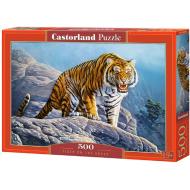 упаковка игры Пазл «Тигр на скале» 500 элементов