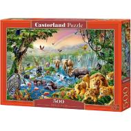 упаковка игры Пазл «Река в джунглях» 500 элементов
