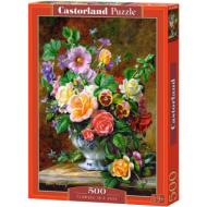 упаковка игры Пазл «Цветы в вазе» 500 элементов