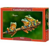 упаковка игры Пазл «Лягушки» 500 элементов