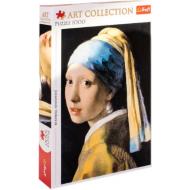 упаковка игры Пазл «Девушка в жемчужных сережках» 1000 элементов