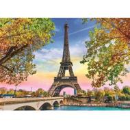 упаковка игры Пазл «Романтический Париж» 500 элементов