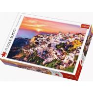 упаковка игры Пазл «Закат над Санторини» 1000 элементов