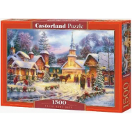 упаковка игры Пазл «Зимний город» 1500 элементов