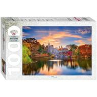 упаковка игры Пазл «Дворец в парке» 1000 элементов