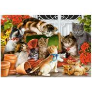 упаковка игры Пазл «Котята» 1500 элементов