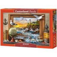 упаковка игры Пазл «Морская жизнь» 1000 элементов