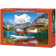 упаковка игры Пазл «Гидросамолёт на горном озере» 500 элементов