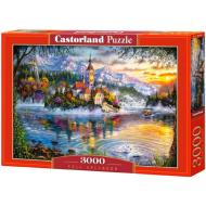 упаковка игры Пазл «Великолепие осени» 3000 элементов