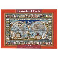 упаковка игры Пазл «Карта мира, 1639» 2000 элементов