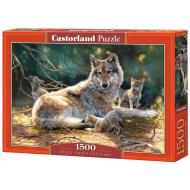 упаковка игры Пазл «Волки» 1500 элементов