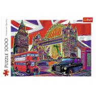 упаковка игры Пазл «Краски Лондона» 1000 элементов