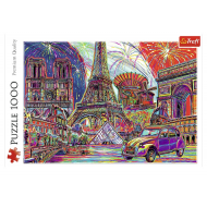 упаковка игры Пазл «Краски Парижа» 1000 элементов