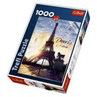 упаковка игры Пазл «Париж на рассвете» 1000 элементов