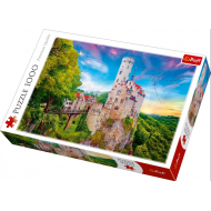 упаковка игры Пазл Замок Лихтенштейн 1000 элементов