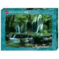 упаковка игры Пазл Каскад водопадов Magic forest 1000 деталей