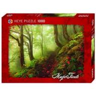 упаковка игры Пазл Тропа Magic forests 1000 деталей