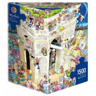 упаковка игры Пазл Триумфальная арка 1500 деталей