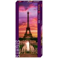 упаковка игры Пазл Ночь в Париже 1000 деталей