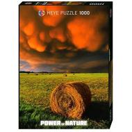 упаковка игры Пазл Наступающая буря Power of Nature 1000 деталей