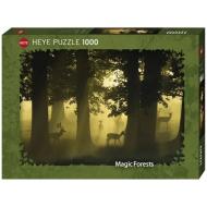 упаковка игры Пазл Олени Magic forests 1000 деталей