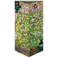 упаковка игры Пазл Кубок мира Mordillo 4000 деталей