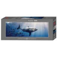 упаковка игры Пазл Белая акула 1000 деталей