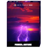 упаковка игры Пазл Двойная вспышка Power of Nature 1000 деталей
