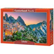 упаковка игры Пазл Рассвет над Кастельмедзано Италия 1500 элементов Castorland