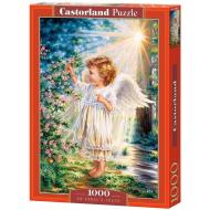 упаковка игры Пазл Прикосновение ангела 1000 элементов Castorland
