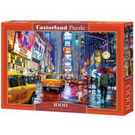 упаковка игры Пазл Тайм-сквер, г Нью-Йорк 1000 элементов Castorland