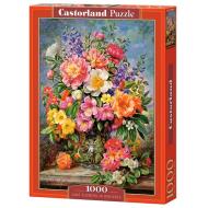 упаковка игры Пазл Цветы 1000 элементов Castorland