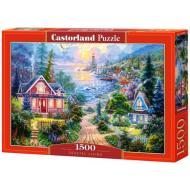 упаковка игры Пазл «Жизнь на побережье» 1500 элементов