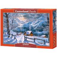 упаковка игры Пазл «Снежное утро» 1500 элементов