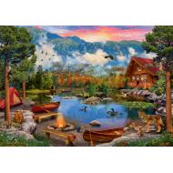 упаковка игры Пазл «Горное озеро» 2000 элементов